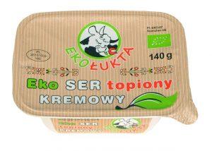 Ser Topiony Kremowy Bio 140 g - Eko Łukta