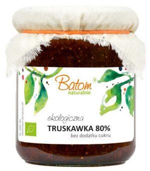 Truskawka 80% B/c Bio 260 g - Batom