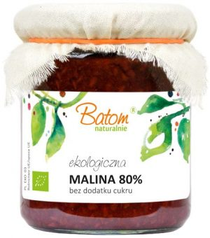 Malina 80% B/c Bio 270 g - Batom