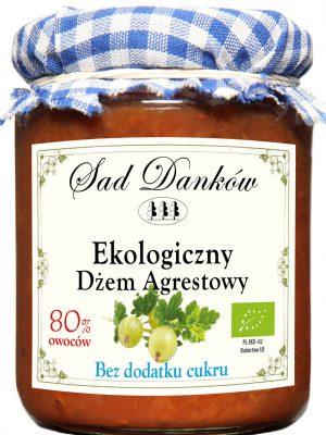 Dżem Agrestowy B/c Bio 260 g - Sad Danków