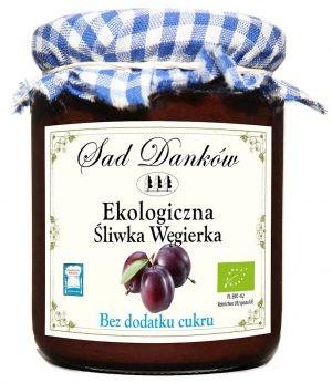 Powidła Śliwkowe B/c Bio 260 g - Sad Danków