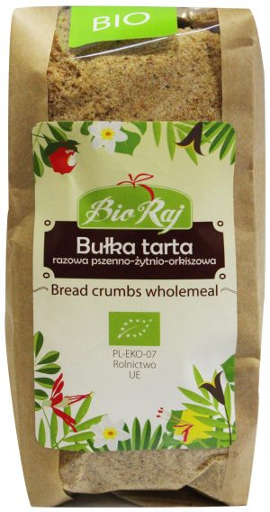 Bułka Tarta Razowa Bio 250 g - Bio Raj