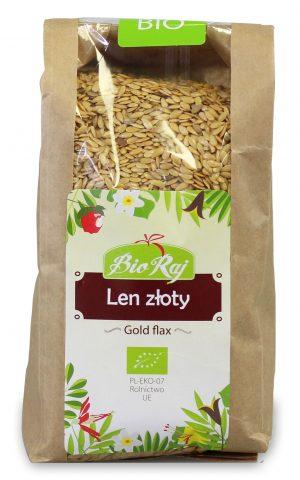 Len Złoty Bio 400 g - Bio Raj