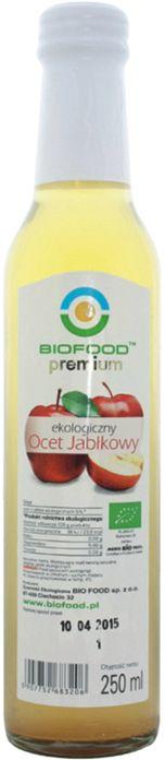 Ocet Jabłkowy Niefiltrowany Bio 250 Ml - Bio Food
