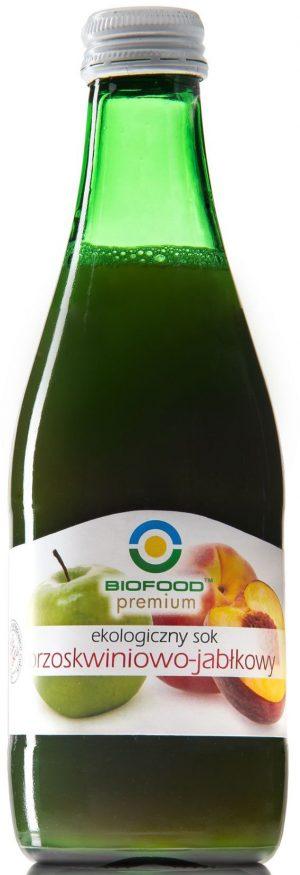 Sok Brzoskwiniowo - Jabłkowy Bio 300 Ml - Bio Food