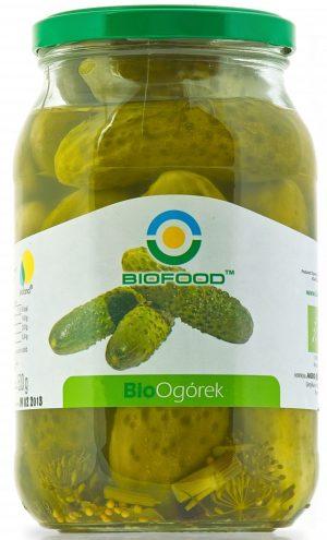 Ogórki Konserwowe Bio 700 g - Bio Food
