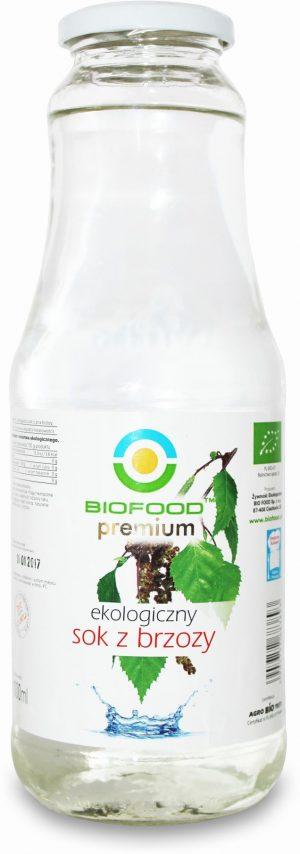 Sok z Brzozy Bio 1 l - Bio Food
