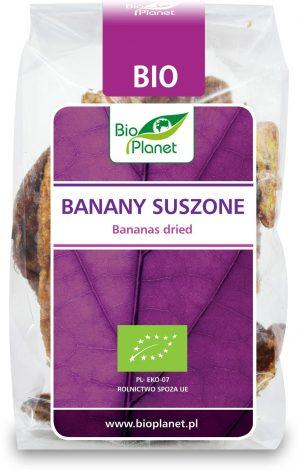 Banany Suszone Bio 150 g - Bio Planet
