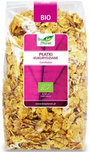 Płatki Kukurydziane Bio 300 g - Bio Planet