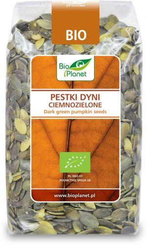 Pestki Dyni Ciemnozielone Bio 350 g - Bio Planet