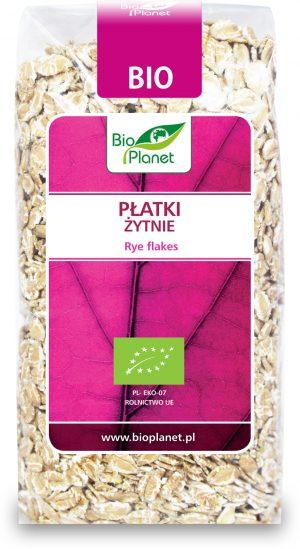 Płatki Żytnie Bio 300 g - Bio Planet