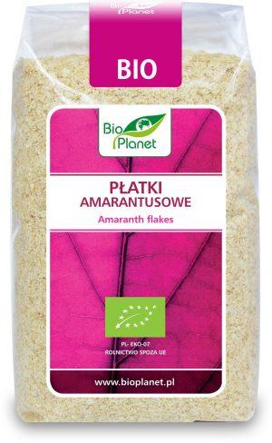 Płatki Amarantusowe  Bio 300 g - Bio Planet