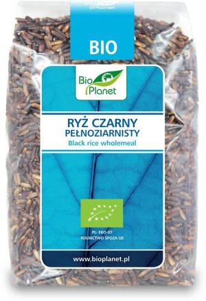 Ryż Czarny Pełnoziarnisty Bio 400 g - Bio Planet