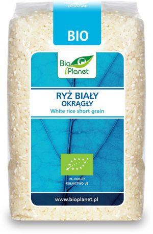 Ryż Biały Okrągły Bio 500 g - Bio Planet