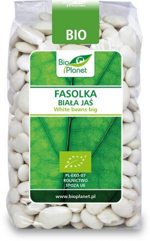 Fasolka Biała Jaś Bio 400 g - Bio Planet