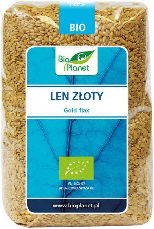 Len Złoty Bio 400 g - Bio Planet