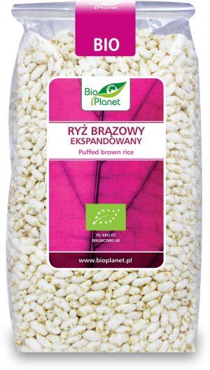 Ryż Brązowy Ekspandowany Bio 150 g - Bio Planet