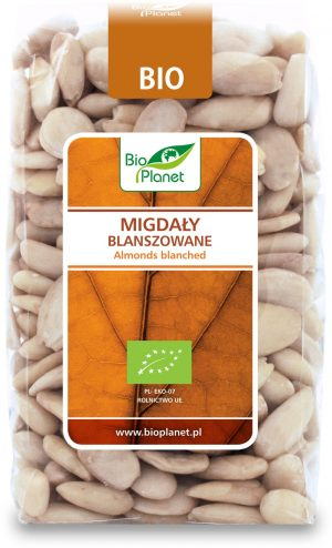 Migdały Blanszowane Bio 350 g - Bio Planet