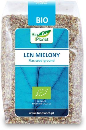Len Mielony Bio 250 g - Bio Planet