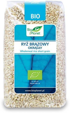 Ryż Brązowy Okrągły Bio 500 g - Bio Planet
