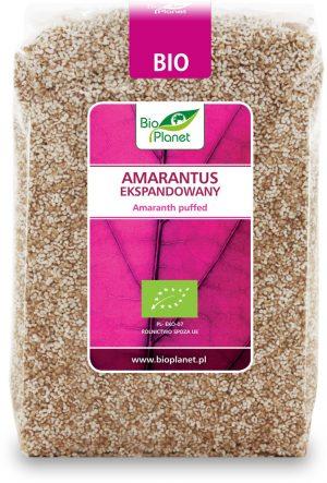 Amarantus Ekspandowany Bio 150 g - Bio Planet