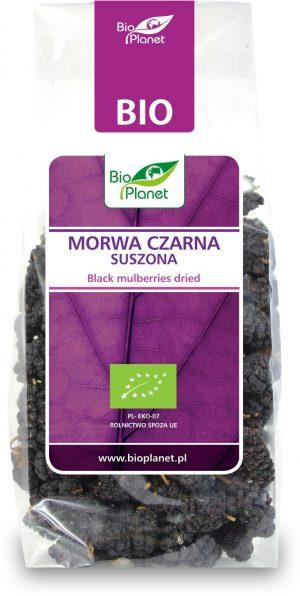 Morwa Czarna Suszona Bio 100 g - Bio Planet