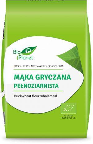 Mąka Gryczana Pełnoziarnista Bio 1 Kg - Bio Planet