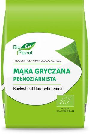Mąka Gryczana Pełnoziarnista Bio 500 g - Bio Planet