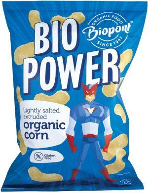 Chrupki Kukurydziane Delikatnie Solone Bezglutenowe Bio 70 g - Biopont