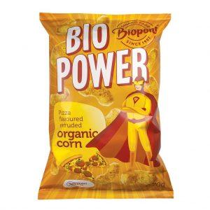 Chrupki Kukurydziane o Smaku Pizzy Bezglutenowe Bio 70 g - Biopont