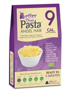 Makaron Konjac Angel Hair Bezglutenowy Bio 385 g - Better Than Foods