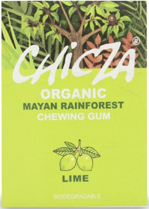 Guma Do Żucia Limonka Bio 30 g - Chicza