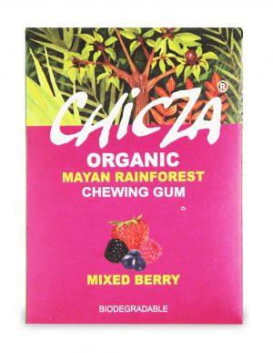 Guma Do Żucia o Smaku Owoców Jagodowych Bio 30 g - Chicza