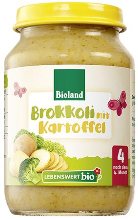 Danie Brokuł z Ziemniakami Bio 190 g - Lebenswert