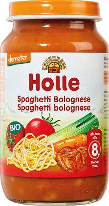 8 Mc Spaghetti Bolognese Bio 220 g - Holle