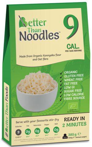 Makaron Konjac Noodle Bio 385 g - Better Than Foods