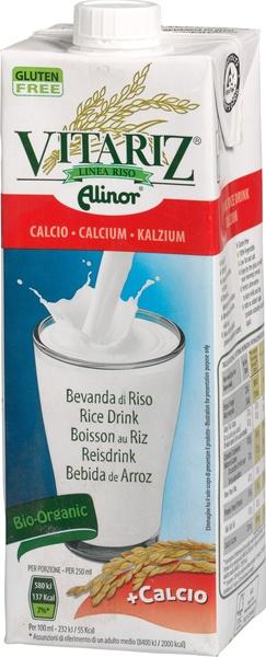 """Napój """"mleko"""" Ryżowe z Wapniem Bio 1 l - Vitariz"""