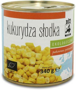 Kukurydza Słodka Konserwowa Bio 340 g (285 G) - Bio Europa