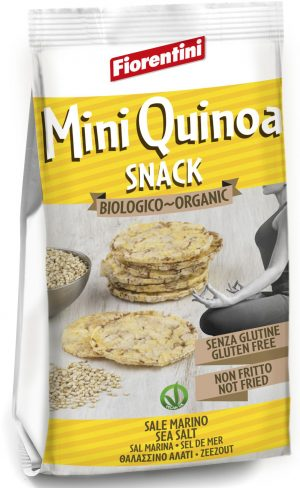 Krążki Kukurydziane z Quinoa Bio 50 g - Fiorentini