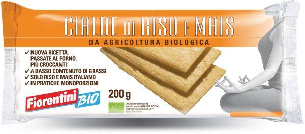Pieczywo Chrupkie Ryżowo-Kukurydziane Bio 200 g - Fiorentini