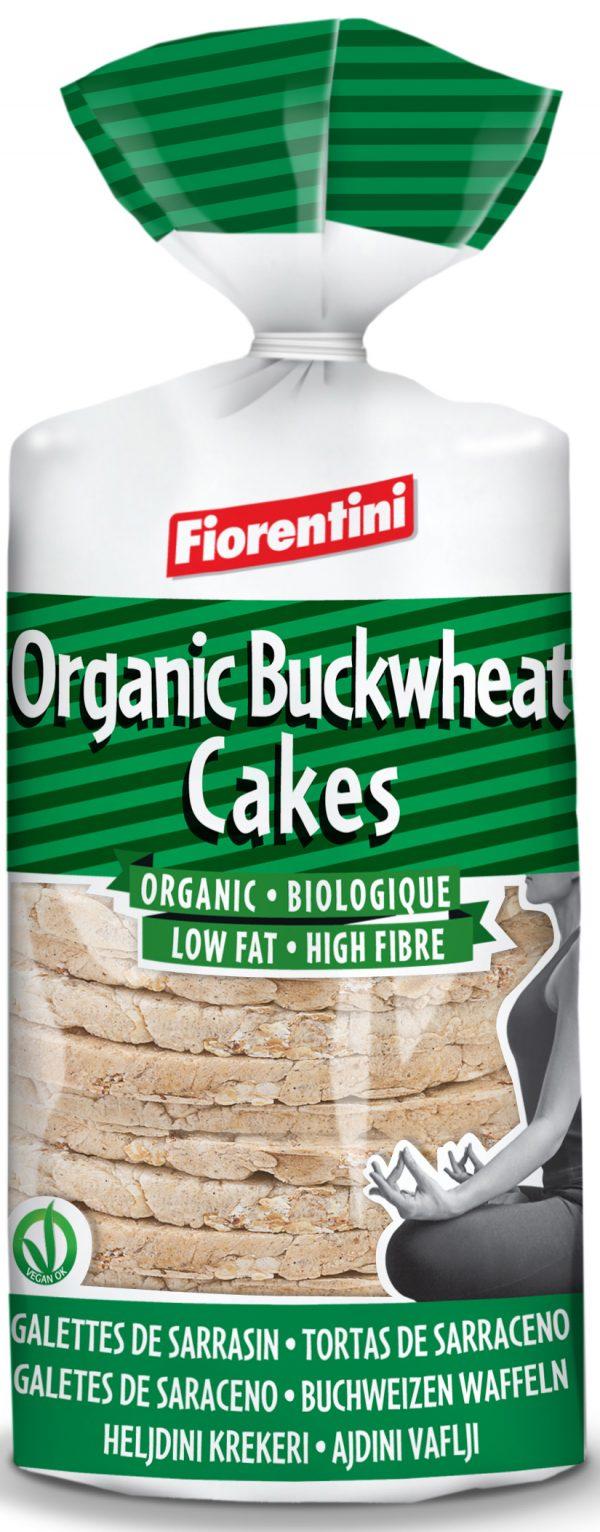 Wafle Gryczane Bio 100 g - Fiorentini