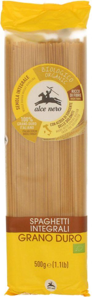 Makaron (Semolinowy Razowy) Spaghetti Bio 500 g - Alce Nero