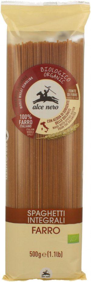 Makaron (Orkiszowy Razowy) Spaghetti Bio 500 g - Alce Nero