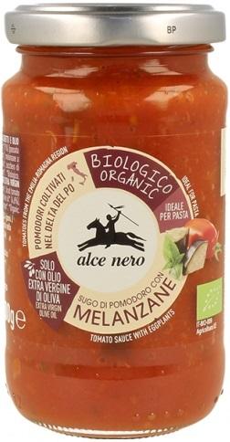 Sos Pomidorowy z Bakłażanem Bio 200 g - Alce Nero