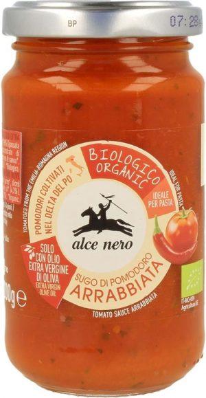 Sos Pomidorowy Arrabiata Bio 350 g - Alce Nero