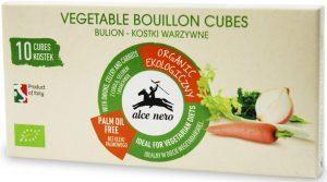 Bulion - Kostki Warzywne Bio 100 g - Alce Nero