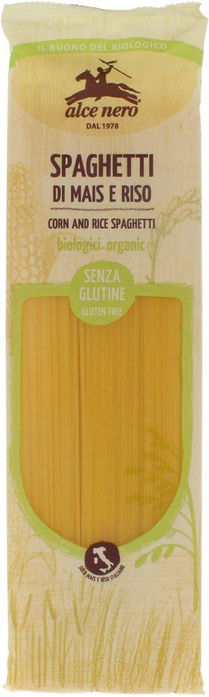 Makaron (Kukurydziano - Ryżowy) Spaghetti Bio 250 g - Alce Nero