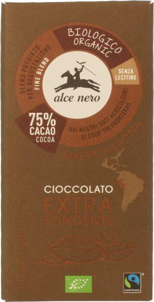 Czekolada Gorzka Fair Trade Bio 100 g - Alce Nero