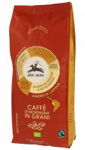 Kawa 100% Arabica Ziarnista Fair Trade Bio 500 g - Alce Nero