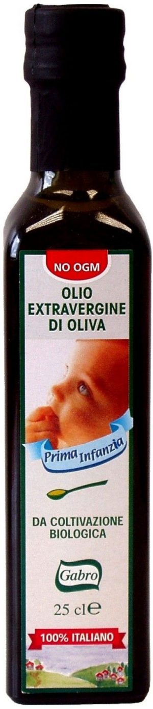 Oliwa z Oliwek Extra Virgin Dla Dzieci Bio 250 Ml - Gabro
